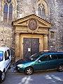 Martinská, kostel svatého Martina ve zdi, vstup.jpg