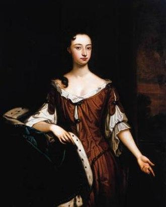 Mary Sackville, Countess of Dorset (1669–1691) - by Sir Godfrey Kneller