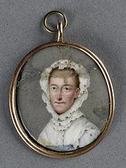 Mary van Hannover (1722-72). Echtgenote van Frederik, landgraaf van Hessen-Cassel