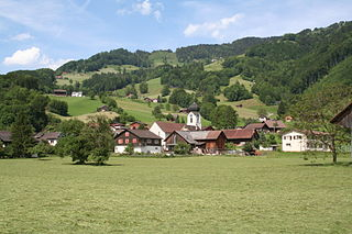 Schänis Place in St. Gallen, Switzerland