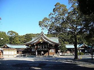 Ichinomiya, Aichi - Image: Masumida shrine