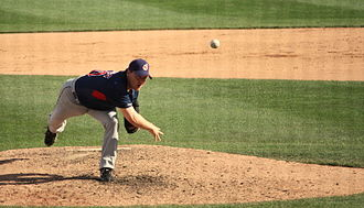 Matt Herges - Herges with the Cleveland Indians