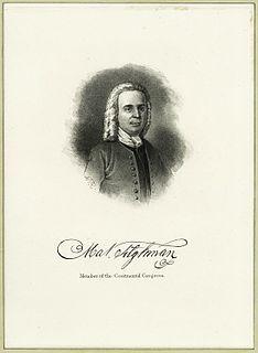 Matthew Tilghman American politician