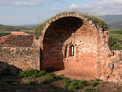 Ruins of the chapel of San Miguel