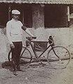 Maurice Garin au départ de la première étape du premier Tour de France (Villeneuve-Saint-Georges 1903).jpg