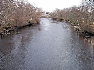 Millville, New Jersey - The Maurice River in Millville in 2006