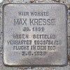 Stolperstein für Max Kresse