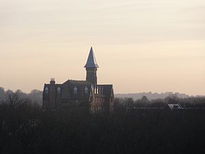Mayfield and Five Ashes - Mayfield College, the now defunct private boys' school.