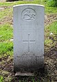 McElroy (John) CWGC gravestone, Flaybrick Memorial Gardens.jpg