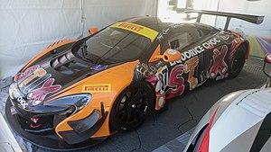 2016 Australian GT Championship - Klark Quinn won the 2016 Australian GT Championship driving a McLaren 650S GT3