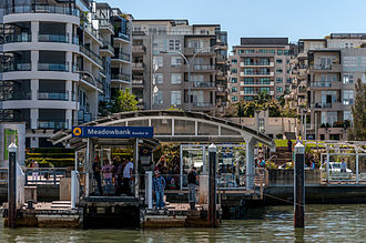 Meadowbank, New South Wales - Meadowbank Wharf, Parramatta River
