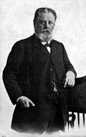 András Mechwart - András Mechwart in 1899