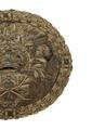 Medaljong i reliefbroderi, 1600-tal - Livrustkammaren - 108149.tif