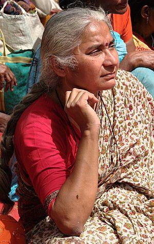 Medha Patkar - Medha Patkar in March 2012