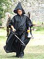 Medzhybizh Archeologist Day 2016 Zapadenko as Black Archeologist 01 (DSCF0822).jpg