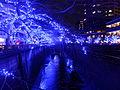 Meguro River at night 20141225, 001.jpg