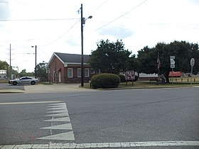 Meigs City Hall, Police Station.JPG