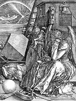 Dürer, Melencholia (1514), la più famosa rappresentazione artistica dell'accidia