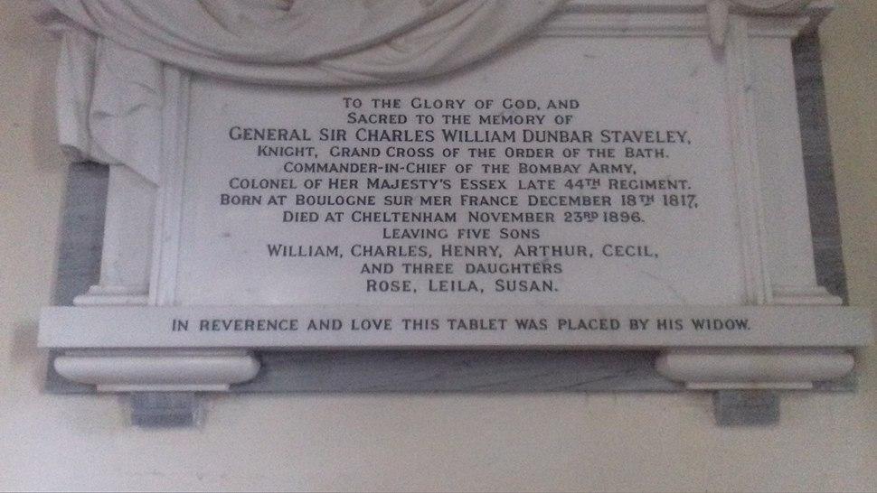 Memorial plaque at Capel Le Fern, Kent
