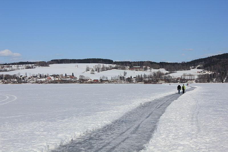 File:Mengshoel ved Mjøsa en vinterdag.JPG