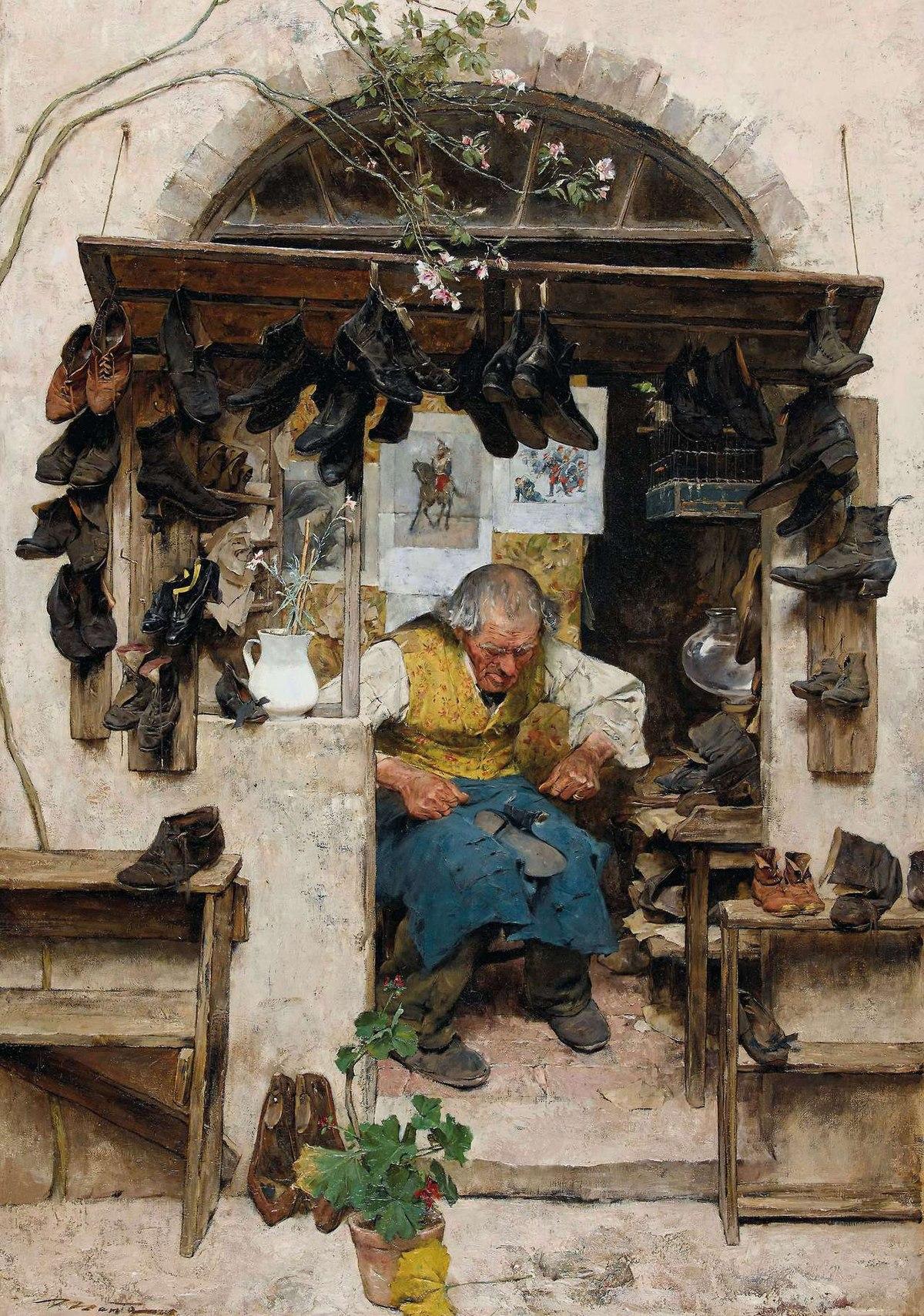File:Mentha, Old shoemaker.jpg - Wikimedia Commons