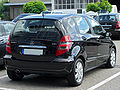 Mercedes A 180 CDI Polar Star (W169) rear 20100724.jpg