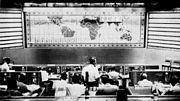 Mercury Control Center during Mercury-Atlas 6 mission 1962