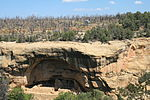 Mesa Verde National Park Oak Tree House Close View 2006 09 12.jpg