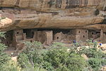 Mesa Verde National Park Spruce Tree House Close View 2006 09 12.jpg