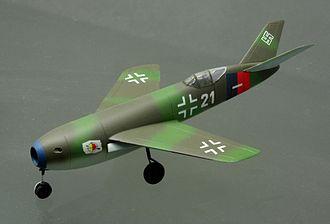 Messerschmitt P.1106 - Me P.1106 model at the Technik Museum Speyer