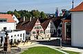 Messkirch Blick zum Heidegger-Haus vom Schloss.jpg