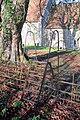 Metal stile into churchyard - geograph.org.uk - 1615766.jpg