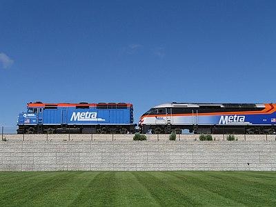 Metra Locomotives F40PH-2 & MP36PH-3S