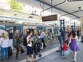 Metro - EUR Magliana - treno - kolej (11718780853).jpg