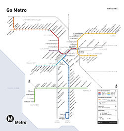 Los Angeles Metro Rail  Wikipedia The Free Encyclopedia