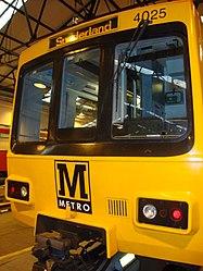 Metrocar 4025, Tyne and Wear Metro depot open day, 8 August 2010.jpg