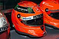 Michael Schumacher 2012 Brazilian GP helmet front-right2 2019 Michael Schumacher Private Collection.jpg