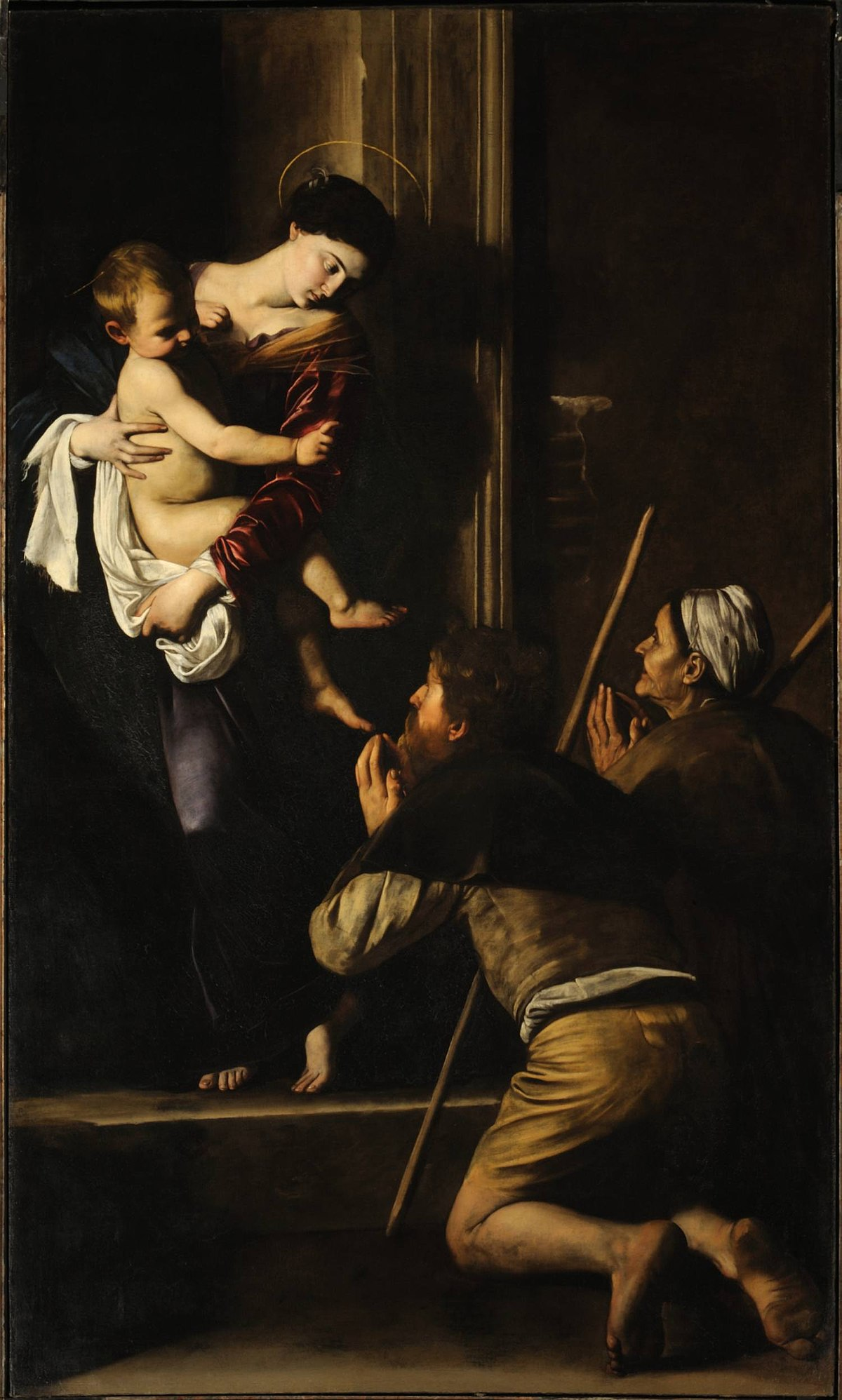Madonna dei pellegrini wikipedia for Man arreda ragazzi roma
