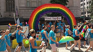 Seattle Pride Annual LGBT event in Seattle, Washington