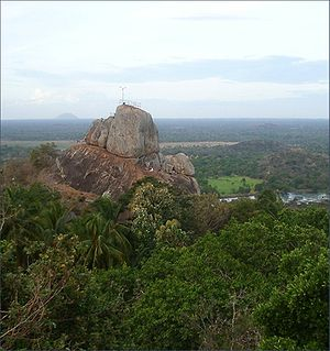 Devanampiya Tissa of Anuradhapura - Mihintale, the traditional location of Devanampiya Tissa's conversion