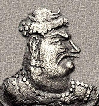 Mihirakula - Portrait of Mihirakula.