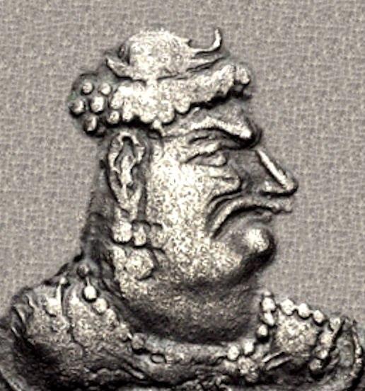 Mihirakula portrait
