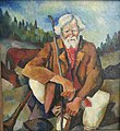Mikhail Filippovich. Old herdsman with a horn.jpg