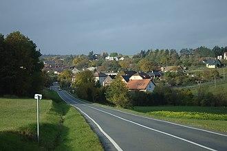 Mikolajice - Image: Mikolajice, pohled na vesnici