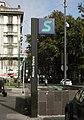 Milano Dateo stazione totem.JPG