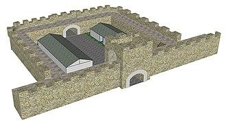 Milecastle - Image: Mile Castle Top Elevation 2