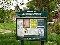 Mile Cross Gardens Noticeboard.JPG