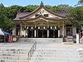 Minatogawa-jinja haiden1.jpg