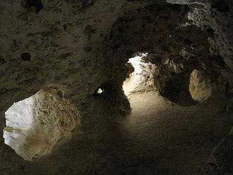 Neolithic flint mines of Spiennes - Image: Minières néolithiques de silex Spiennes (1)