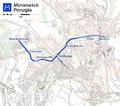 Minimetrò Perugia map.png